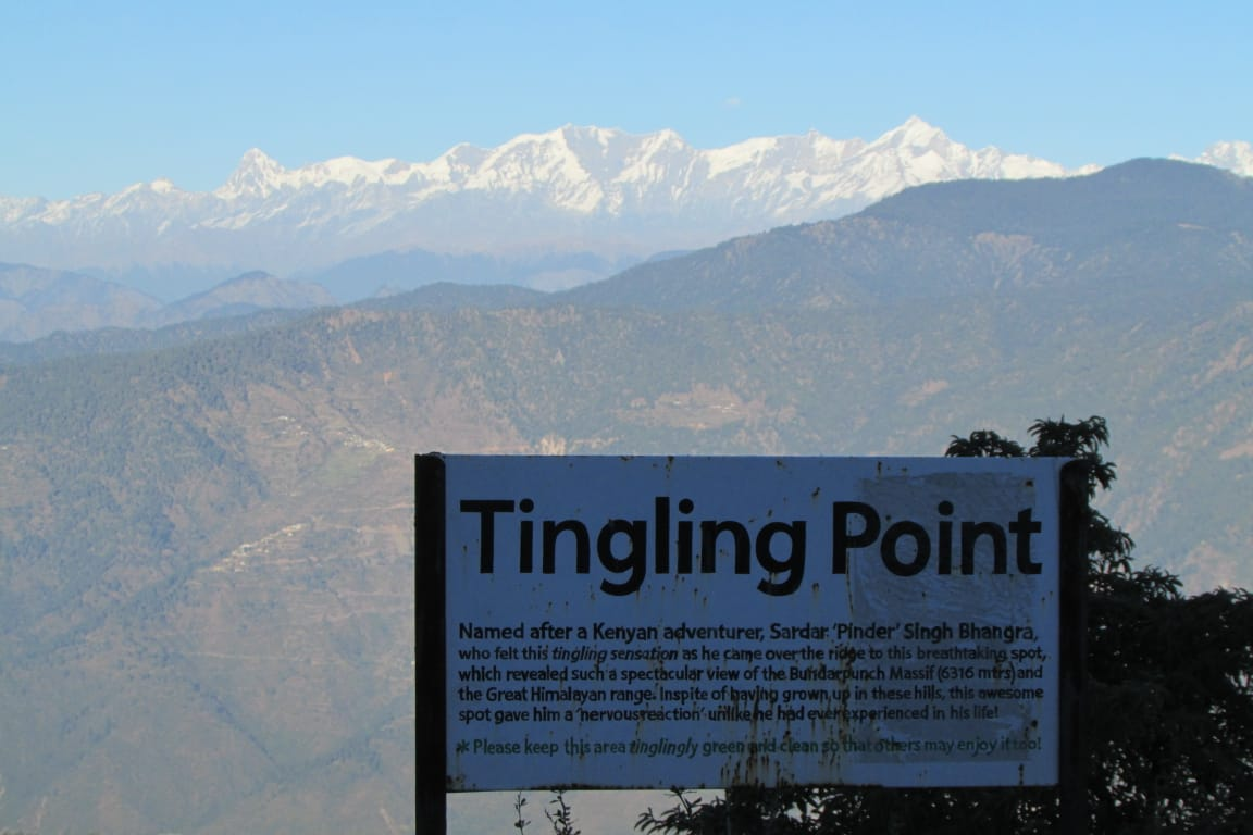 Tingling point Uttarakhand