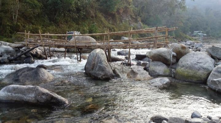 Pedong Rishi River