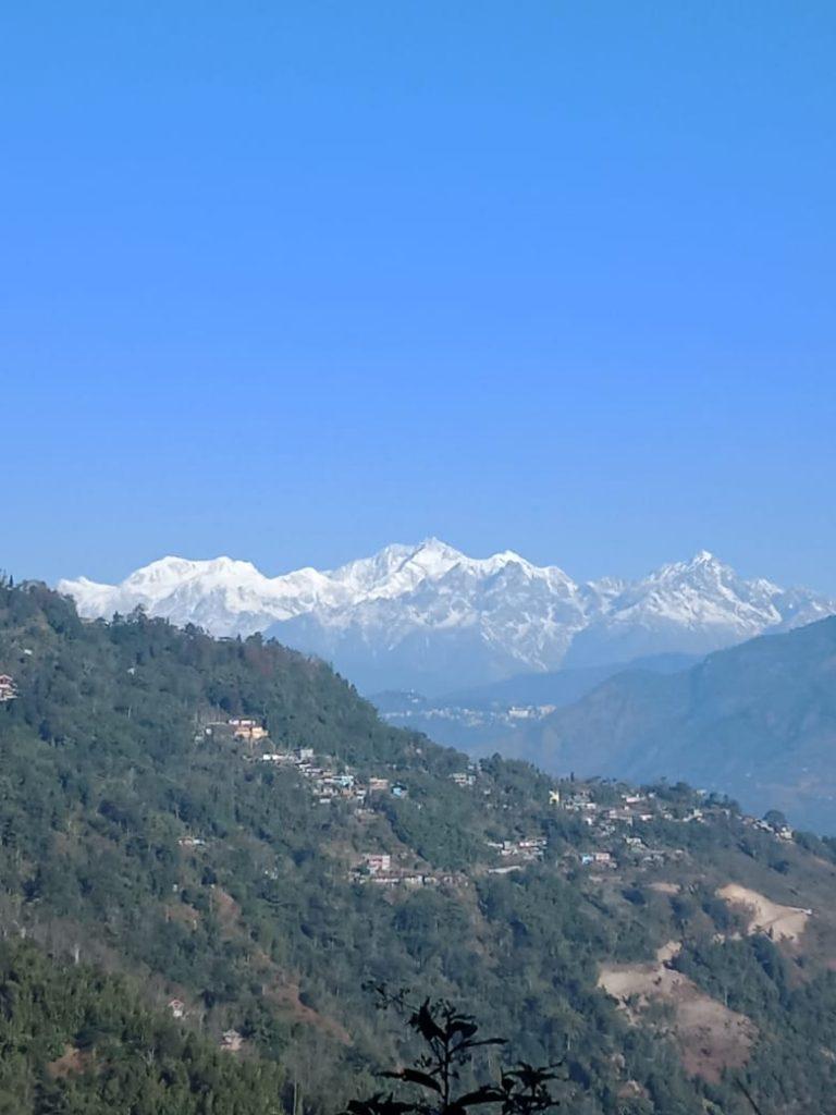 View from Chota Mangwa
