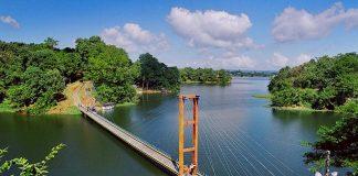 Hanaging bridge Rangamati